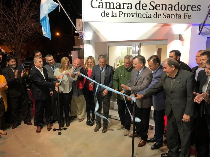 Inauguraron la Casa del Senado del Depto. San Cristóbal