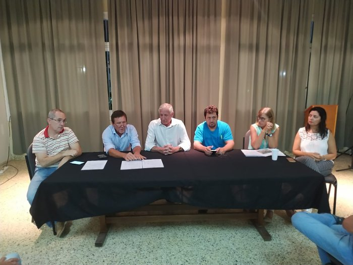 Suardi: Se concretaron reuniones para obras de pavimento y cordón cuneta