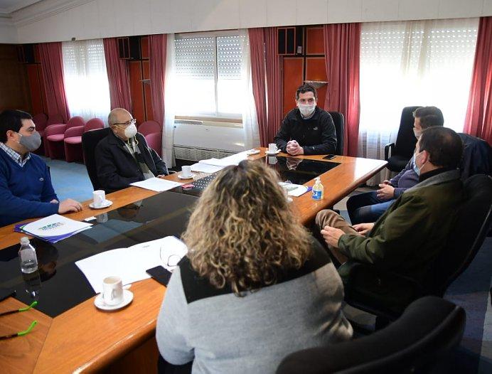 Morteros: Autoridades municipales recibieron a directivos de Lactear