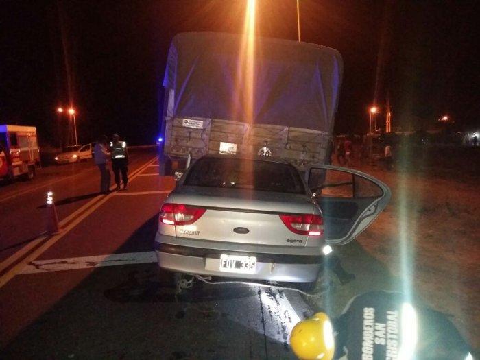 Dos heridos graves en un accidente en Huanqueros
