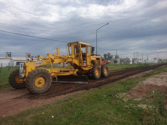 Suardi: Mejoran calles en el Loteo Sella