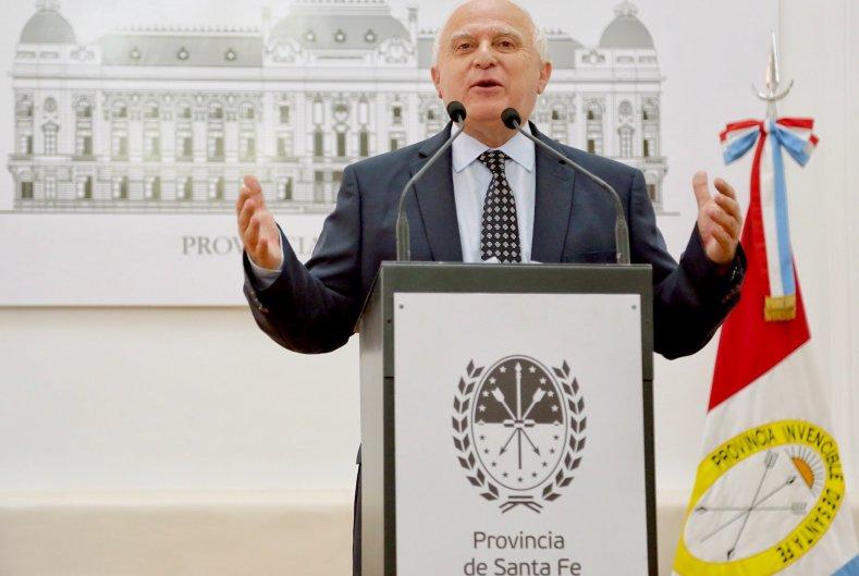 Lifschitz presentó el proyecto de ley de Reforma Constitucional