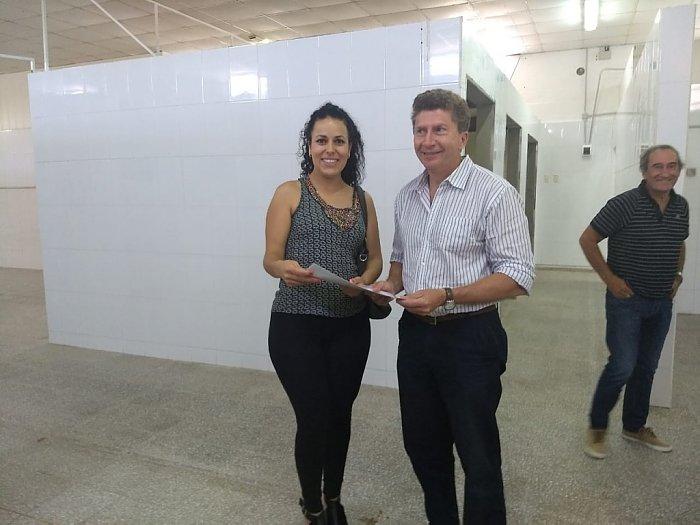 Sanmartino visitó la Cooperativa La Nueva Esperanza